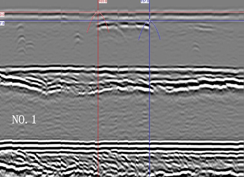 TOFD检测十字光标与抛物线光标
