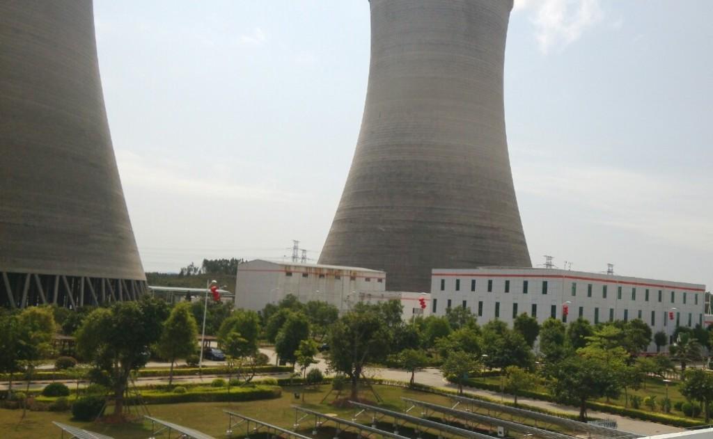 广东河源电厂内部场景