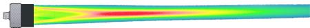 超声波声束能量分布