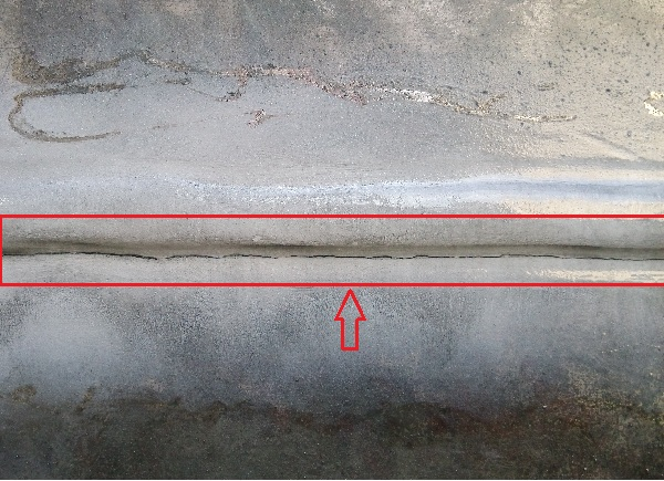 磁粉检测疑似裂纹的磁痕显示显示