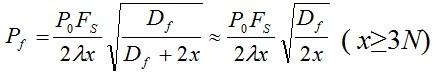长横孔回波声压计算公式