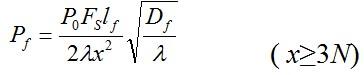 短横孔回波声压计算公式