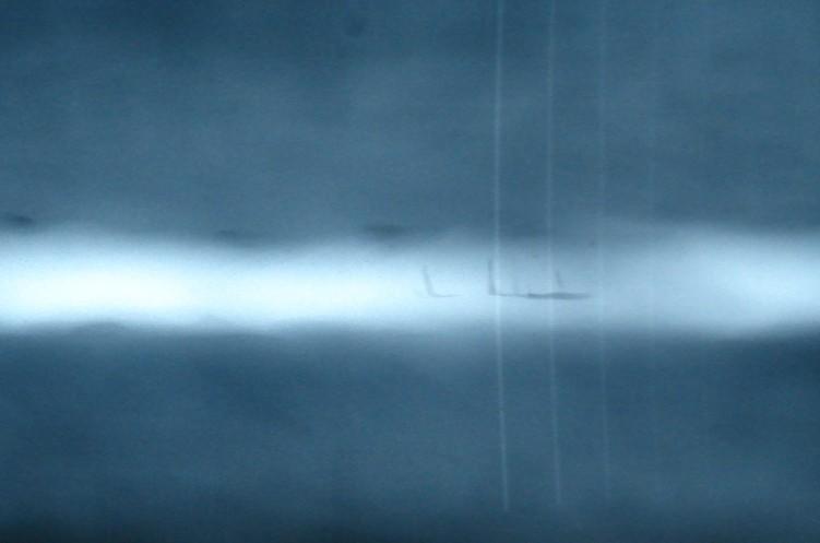 条形气孔射线底片