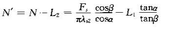 横波斜探头钢中剩余近场区长度计算公式
