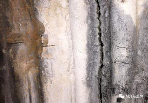 磁粉检测密集裂纹