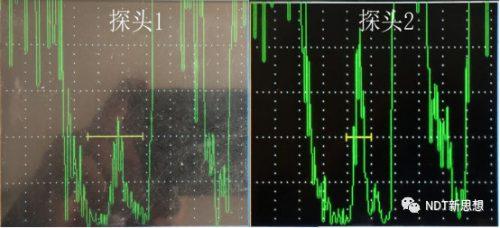 超声检测灵敏度对比
