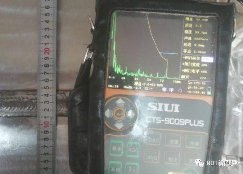 K2探头扩散角回波