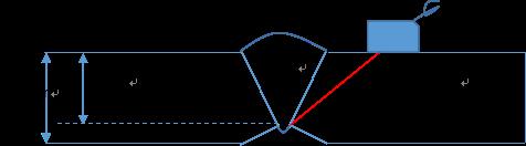 管道焊缝超声检测误判案例